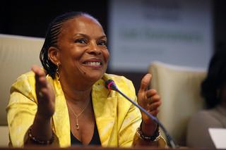 Christiane Taubira lors du forum des idées d'outremer, Avril 2011 par Parti Socialiste via Flickr