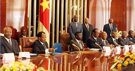 Un conseil des ministres présidé par M. Paul Biya, président de la République du Cameroun. Crédit image:cameroun-online.com