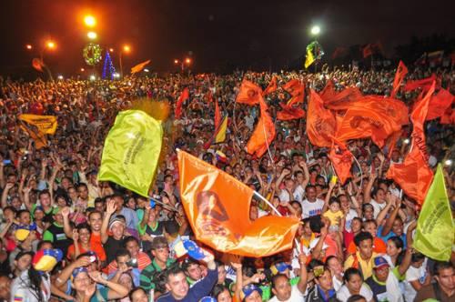 Les manifestants Venezueliens