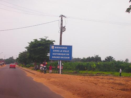 Entrée de la ville historique de Grand Bassam. Crédit image: bp.blogspot.com