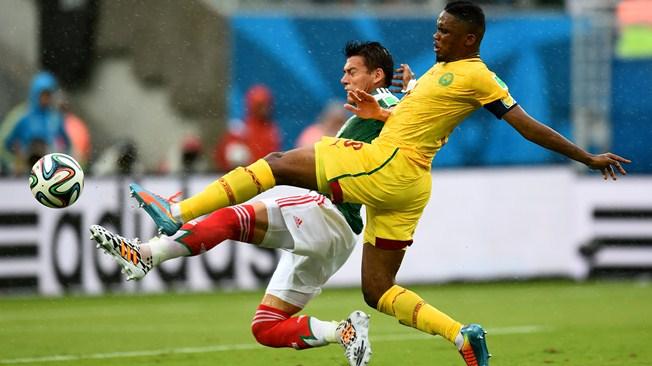 Samuel Eto'o Fils lors du match contre le Mexique. (Crédit photo: fifa.com)