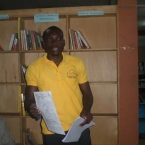 Thierry Batoum, président de l'ADDEC, s'est aussi exprimé sur sa situation ainsi que celle de son camarade avec qui ils ont été exclus des Universités camerounaises.