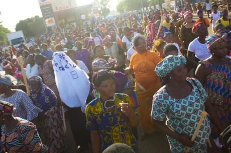 Les femmes dans les rues de Ouagadougou. Source: Burkina24