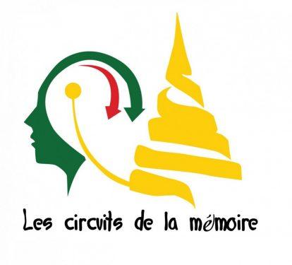 """Logo officiel """"Les Circuits de la mémoire"""". Crédit: yesafrica-foundation.org"""